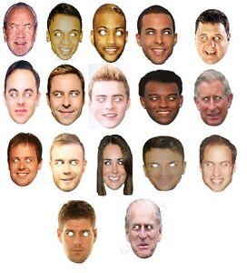 face masks joke funny celebrity party fancy dress