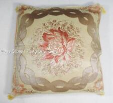 Floral Throw Pillow Cushion Cover Case Home Bed Chair Sofa Decor Decorative #E