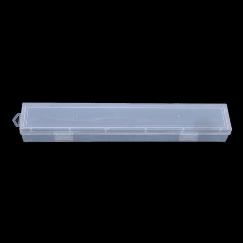 Desktop Decor Clear Storage Box Stationery Organizer Pen Pencils Box Z
