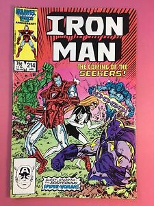 Iron-Man-The-Coming-de-Seekers-Marvel-Comics-214-Jan-FN