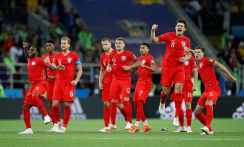 England Poster Print Photo Picture A3 A4 A5  Penalty celebration