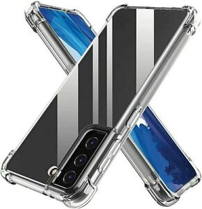 Samsung Galaxy Note 20 10 9 8 S21 S20 FE Ultra S9 S10 S10e Plus Clear Hard Case