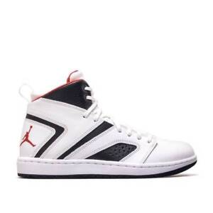 1b8ba835c76 Men s Air Jordan Flight Legend White Gym Red-Black NIB Size 8-13 ...