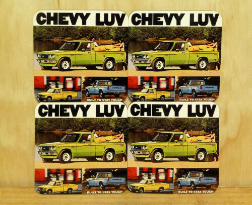 MUG COASTERS SET OF 4 CHEVY LUV UTE