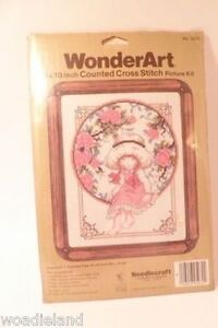 NIP-Wonderart-Catherine-Couted-Cross-Stitch-Needlecraft-Kit-8-x-10-034