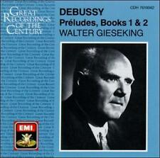 Debussy: Preludes, Books 1 & 2 Claude Debussy, Walter Gieseking Audio CD