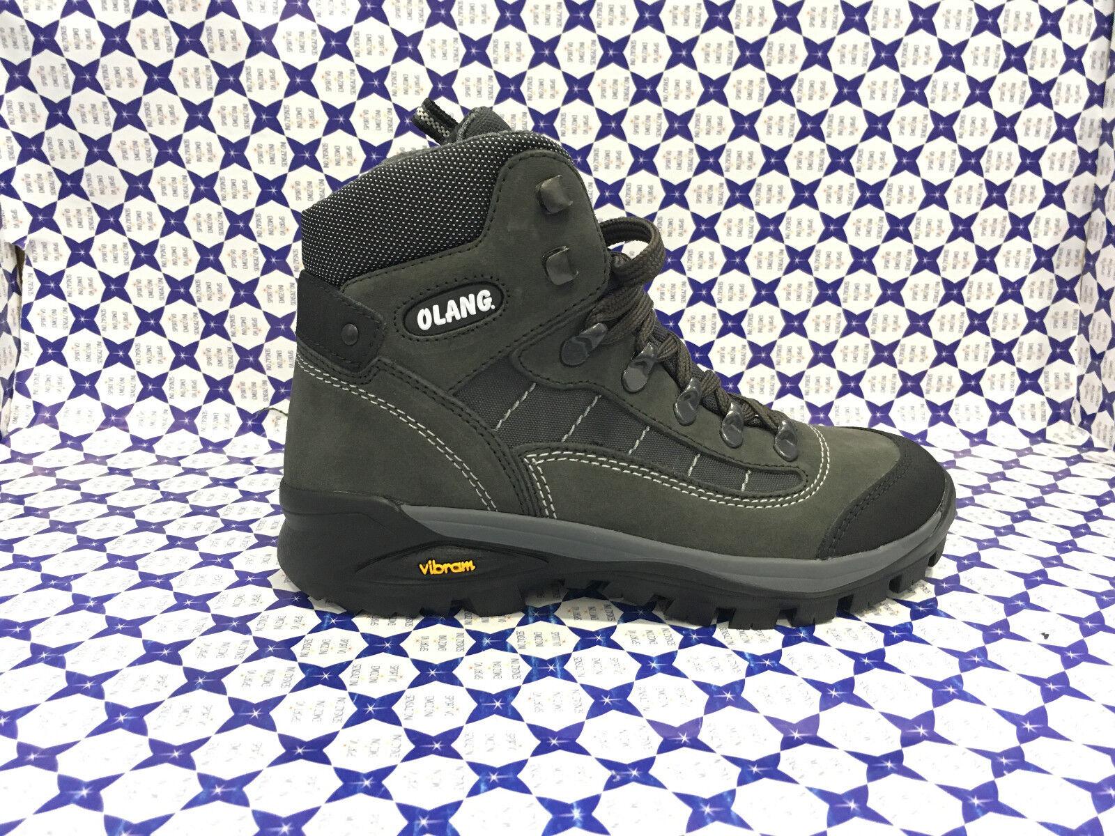 shoes Trekking Olang Junior Bimbo - Tarvisio Tex - Antracite - TARVIKID008