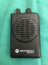 Motorola Minitor V 5 Low Band Pager 45 489mhz 2 Ch Non Stored Voice Tested