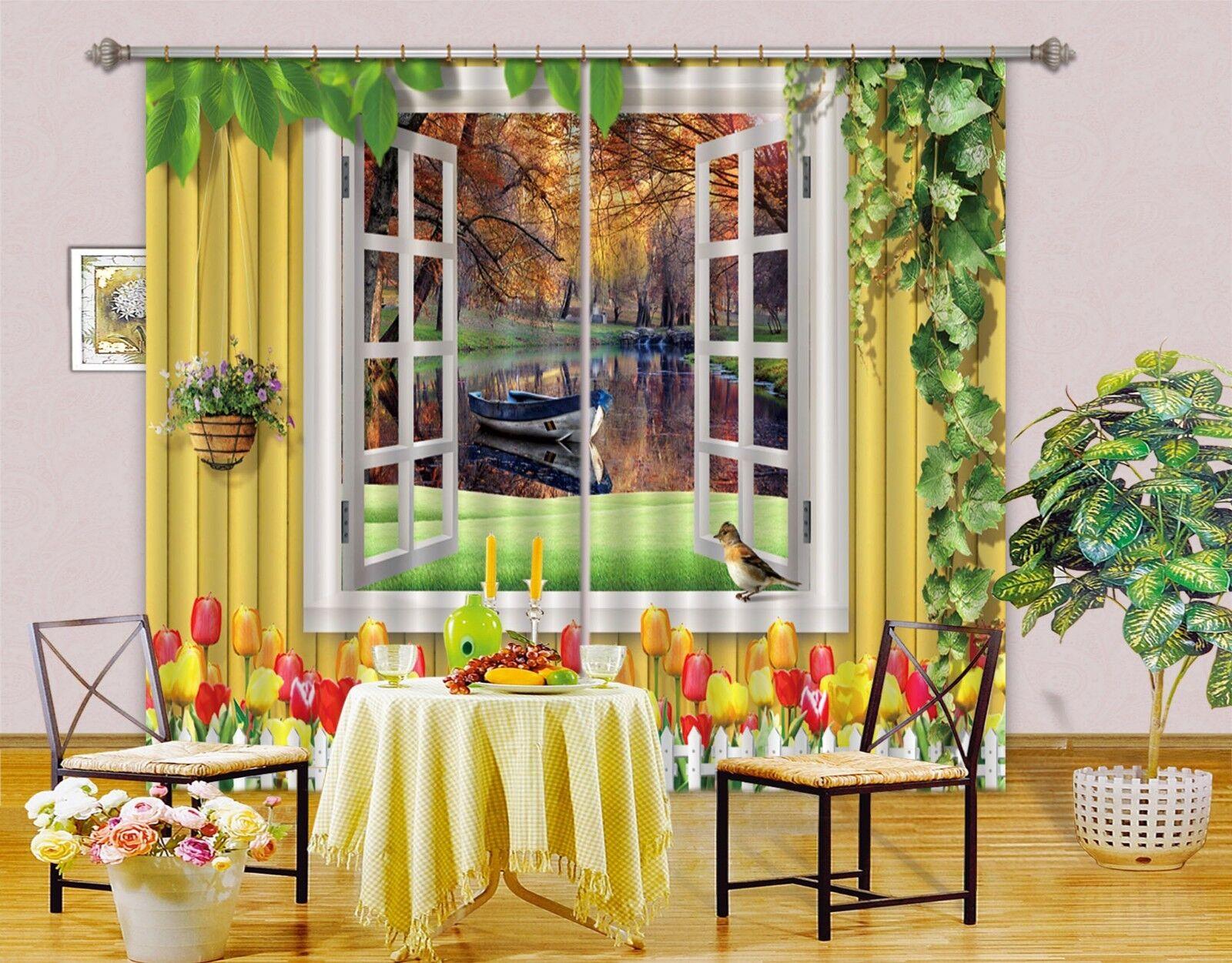 3d bosques ríos bloqueo 78 cortina de fotografía presión cortinas cortina de tela de ventana