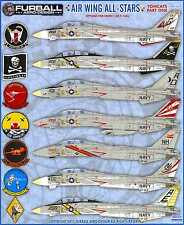 Furball Decals 1/48 GRUMMAN F-14A TOMCAT Air Wing All Stars Part 1