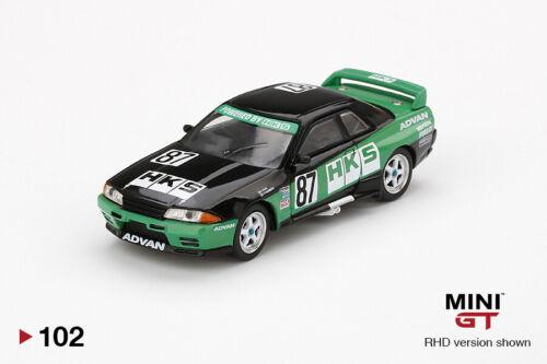 Mini Gt Nissan R32 Größe A #87 Hks 1992 Gruppe A.MGT00102 1//64