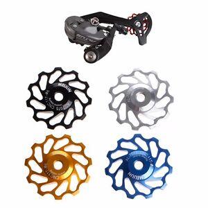 11Tooth MTB Ceramic Bearing jockey Wheel Pulley Road Bicycle Bike Derailleur UK