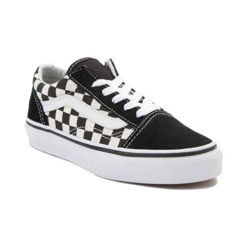 5405668622e Skate Old Damier Neuf Chex Skool Noir Blanc Jeunesse Chaussures De Vans  q7qxwR60SP