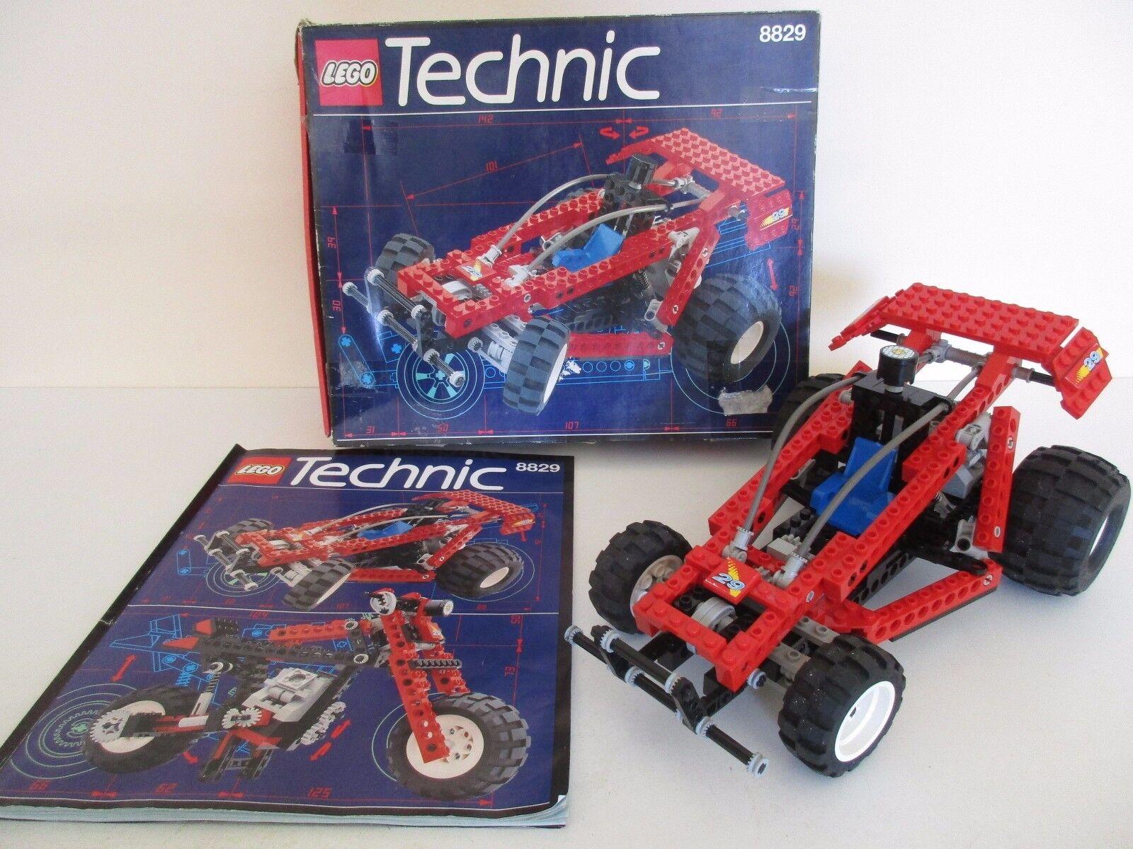 LEGO TECHNIC 8829 DUNE BLASTER - COMPLET boite & instructions - LEGO 1994