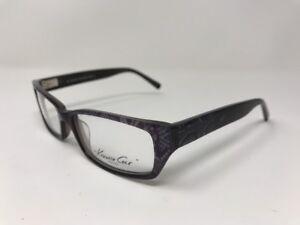 NEW-KENNETH-COLE-NEW-YORK-Eyeglasses-Mod-159-54-16-135-Gray-Purple-AC68