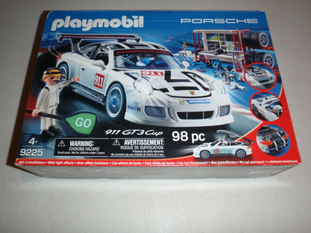 Playmobil Porsche 911 GT3 Cup Racing Car Playset Kids Toy 9225 NEW Sealed