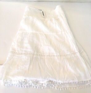 Old-Navy-Women-039-s-Smocked-Tiered-Lined-Flirty-Skirt-Plus-Size-3X-NEW