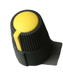 Pale Yellow Pan/Balance knob for Soundcraft Spirit Folio Notepad Mixer #SNDCR013