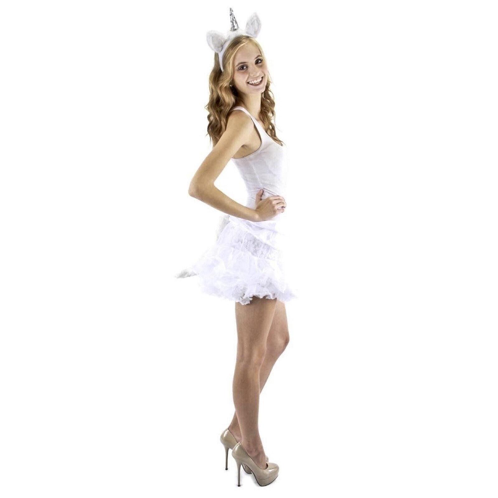 elope Unicorn Costume Kit Headband Tail Reenactment Theater Accessories  Outfit