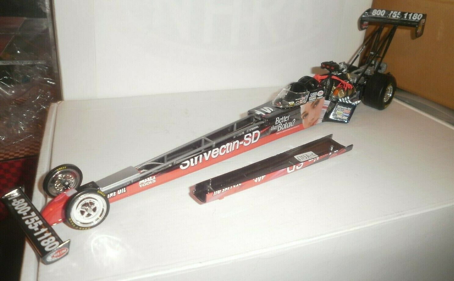 grandi offerte NHRA 1 24 DAVID GRUBNIC 06 STRIVECTIN Coloreeeee Coloreeeee Coloreeeee CHROME PRE PRODUCTION ProssoOTYPE  Felice shopping