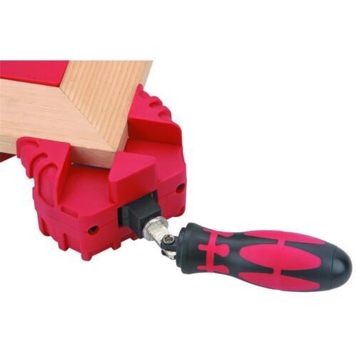 SET OF 2 New Multifunction Corner Clamp Tool Carpenter Picture Frame 90 Degree