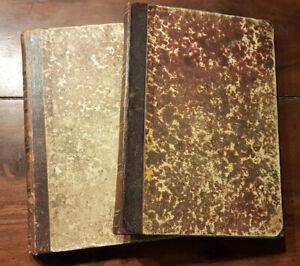 2 Bücher: Franz Xaver von Funk - Kirchengeschichte Autograph? Vorlesungen? 1872