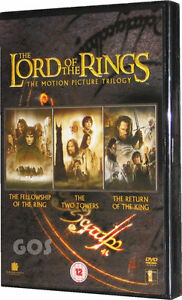 Lord-Of-The-Rings-Motion-Picture-Trilogy-Film-Edition-triple-3-DVD-New-Sealed