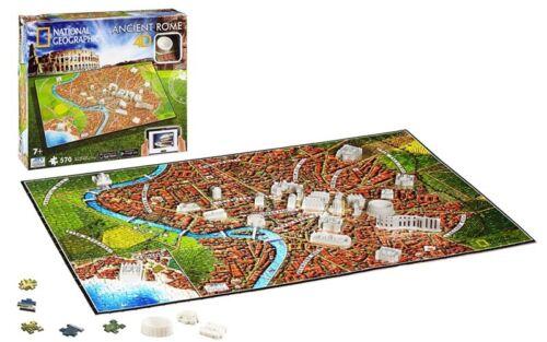 Puzzle 3D National Geographic Rome Ancienne 4d cityscape