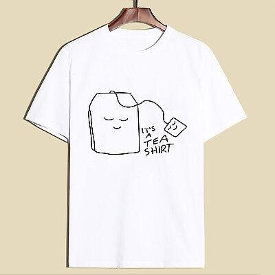 It's a tea shirt funny print short sleeve summer fashion women casual O-neck Tee