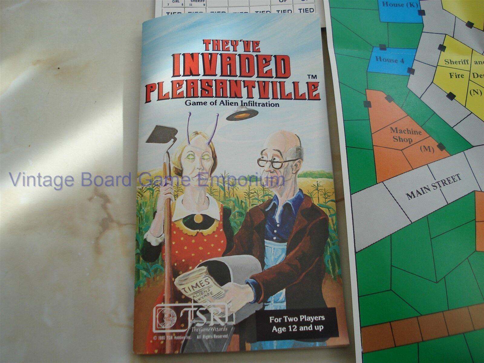 Essi hanno  invaso Pleasantville gioco-TSR - 1981-integro-Alieno infiltrazione  risparmia fino al 30-50% di sconto