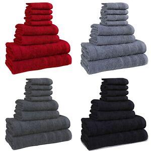 8-PIECE-100-COTTON-BATHROOM-BALE-TOWEL-SET-SOFT-FACE-TOWEL-HAND-BATH-amp-TOWEL