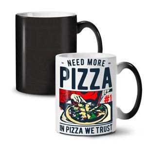 In Pizza We Trust NEW Colour Changing Tea Coffee Mug 11 oz   Wellcoda