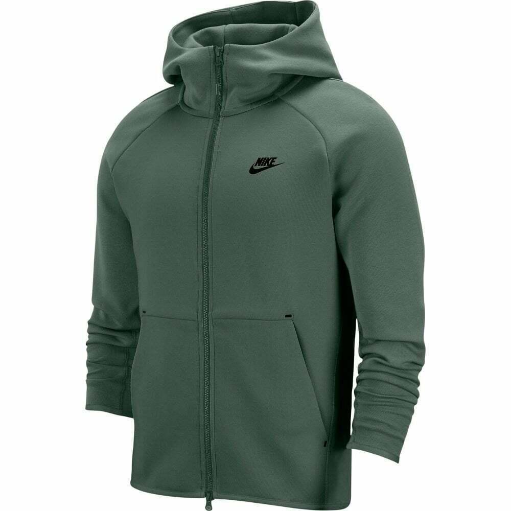 el primero jerarquía puente  Nike Sportswear Tech Fleece Hoodie Womens 842845-387 Palm Green ...