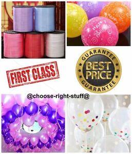 100-Nacre-Ballons-amp-Ballon-Ruban-Frise-pour-les-Enfants-Anniversaires-Fete
