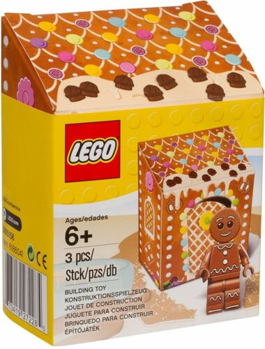 "LEGO #5005156 Seasonal Exclusive Gingerbread Man /""New /& Sealed/"""