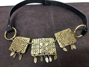 Vintage-CHICO-s-Ladies-Women-s-Genuine-Leather-SM-1815