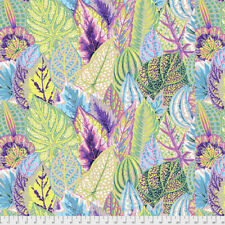 KAFFE FASSETT COLLECTIVE-BRASSICA White 100/% cotton fabric Patchwork Quilting