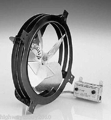 Air Vent Inc 53320 APGH Gable Mount Power Attic Ventilator Fan 1620CFM 2300sq ft