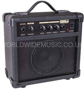 Kinsman-BB10BS-Blaster-10-W-Bass-Guitar-Practice-Amp-Combo-New