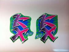 convogliatori  Kawasaki KX 250 1990   - adesivi/adhesives/stickers/decal/cristal