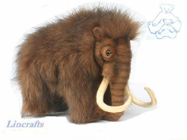Hansa Woolly Mammoth 4660 Plush Soft Toy Sold by Lincrafts Established 1993