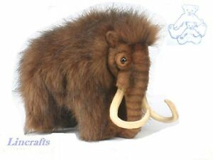 Woolly Mammoth Plush Soft Toy By Hansa Prehistoric Animal Sold By