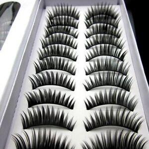 10 pairs beautiful high grade of dense eyelashes false eyelash free shipping