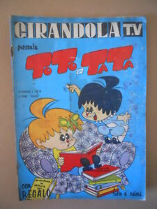 GIRANDOLA-TV-presenta-TOTO-e-TATA-n-2-1963-ed-Fasani-M12-Mediocre