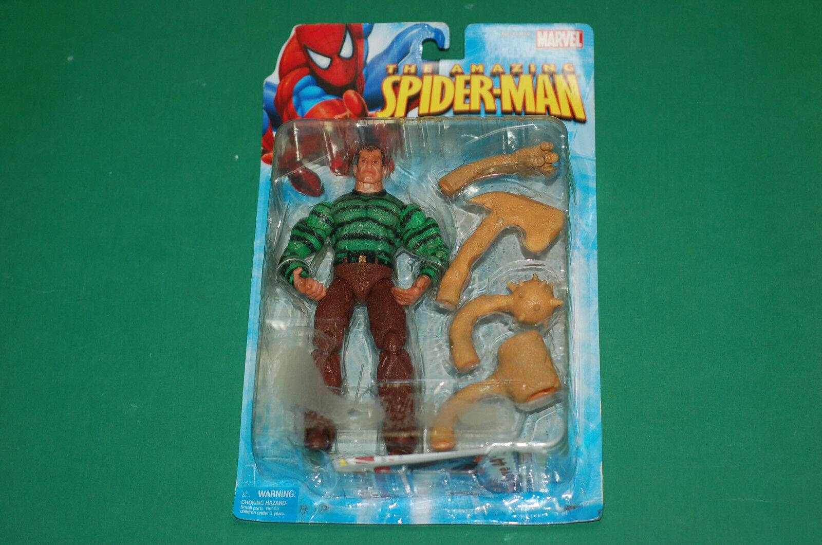 The Amazing Spider-Man Sandman interchangeable hands figure statue Toy Biz