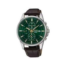 Seiko Men's Chronograph Watch SNAF09P1