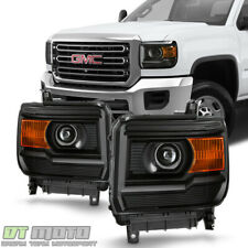 -Chrome 6 inch 100W Halogen 2014 Gmc SIERRA 1500-LH Post mount spotlight Driver side WITH install kit Larson Electronics 1017OJI1WEM