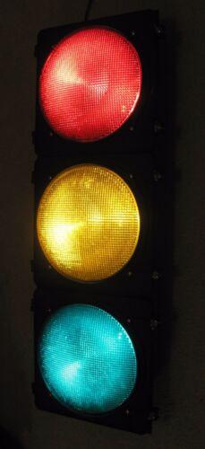 "12/"" Poly McCain 3 section LED BALL Traffic Signal Light"