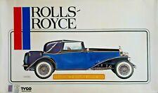 Pocher 1//8 1934 Rolls Royce Phantom II Torpedo Convertible Metal Display Plaque
