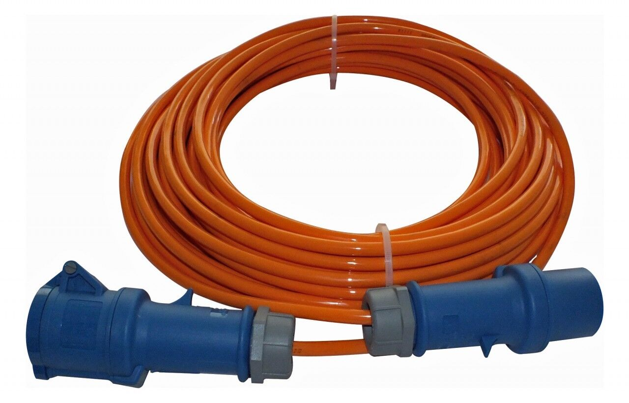 MENNEKES MENNEKES MENNEKES CEE Verlängerungs-Kabel Orange 3x1,5mm² - 20m Bordstrom Landstromkabel e13ea0